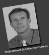 Rechtsanwalt<br/> Dr. jur. Oliver von Gerkan