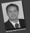 Rechtsanwalt<br/> Tim Burow