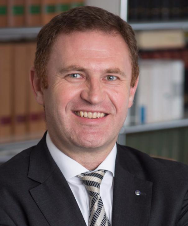 Rechtsanwalt und Mediator<br/> Klaus Huber