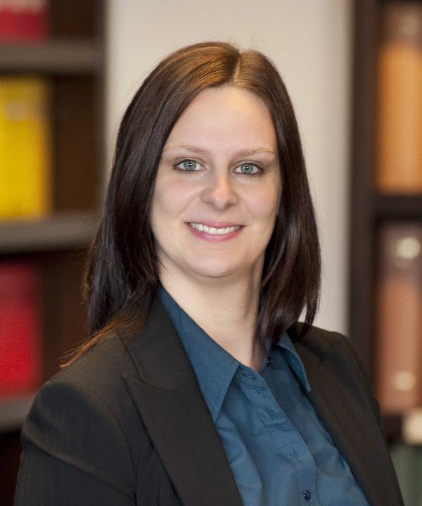 Rechtsanwältin<br/> Melanie Scherer