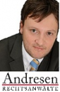 Rechtsanwalt<br/> Andreas Tiede in Anstellung