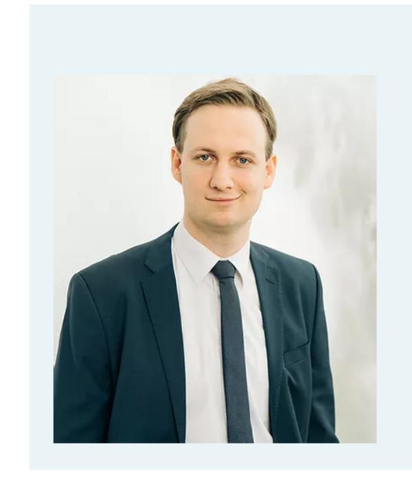 Rechtsanwalt<br/> Markus Erb in Anstellung