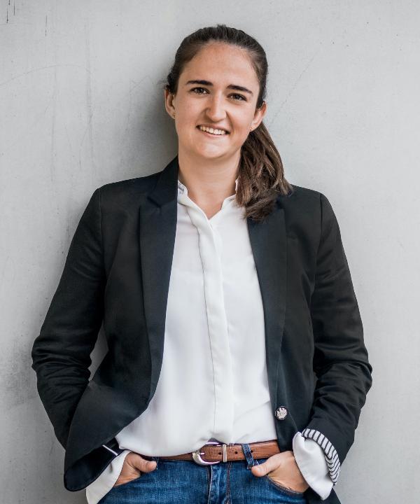 Rechtsanwältin<br/> Franziska Giner in Anstellung